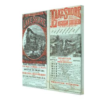 Lake Shore and Michigan So Railway Canvas Print
