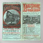 Lake Shore and Michigan So Railway Poster