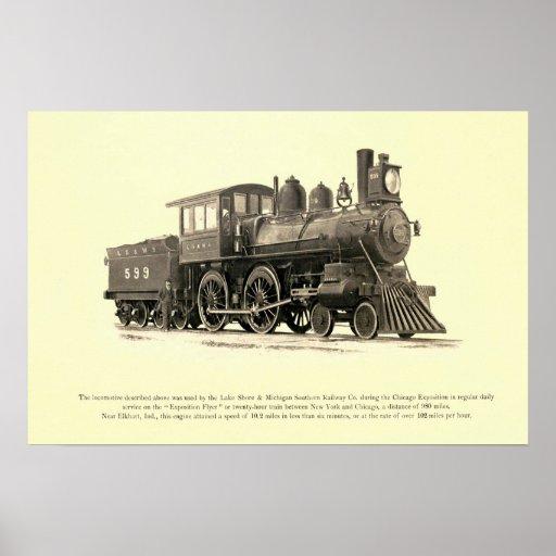 Lake Shore and Michigan Southern Railway Co. Poster