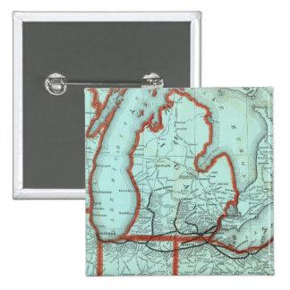 Lake Shore and Southern Michigan Railway 15 Cm Square Badge