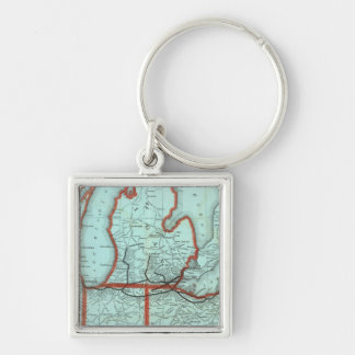 Lake Shore and Southern Michigan Railway Key Ring