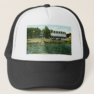 Lake Shore Hotel, Clear Lake, Iowa Trucker Hat