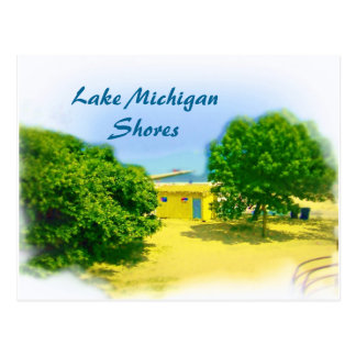 Lake Shores of the Chicago Beach Postcard