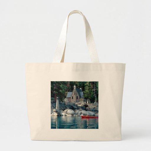 Lake Sight Seeing By Canoe Tahoe Bags