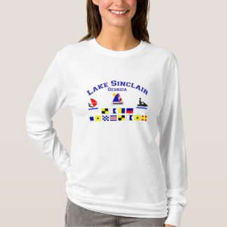 Lake Sinclair GA Signal Flags T-Shirt