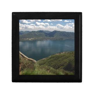 Lake Small Square Gift Box