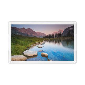 Lake Solitude Acrylic Tray
