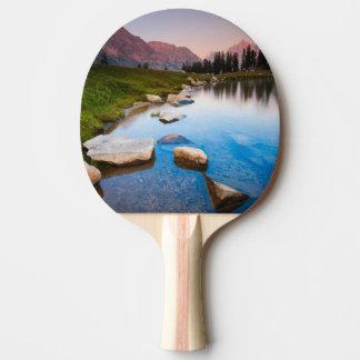 Lake Solitude Ping Pong Paddle