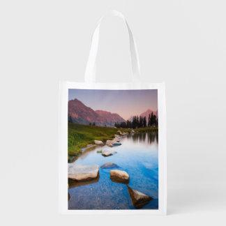 Lake Solitude Reusable Grocery Bag