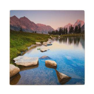 Lake Solitude Wood Coaster