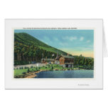 Lake Stevens View of the Toll House Greeting Card