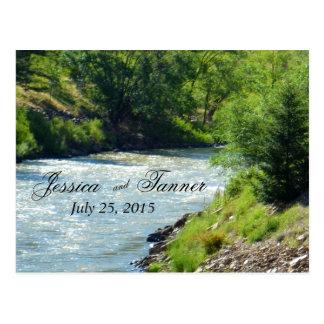 Lake Stream Nature Photography RSVP Postcard