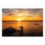Lake Sunrise Art Photo
