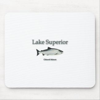Lake Superior Chinook (King) Salmon Mouse Mat