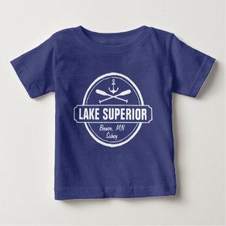 Lake Superior, custom town, name, anchor, paddles Tee Shirts