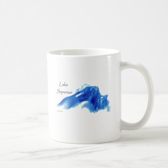 Lake Superior InDepth Coffee Mug