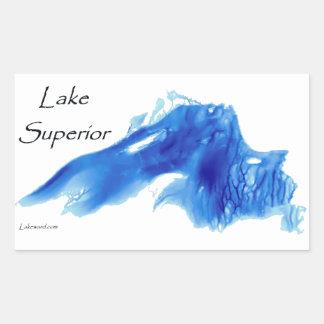Lake Superior InDepth Rectangular Sticker