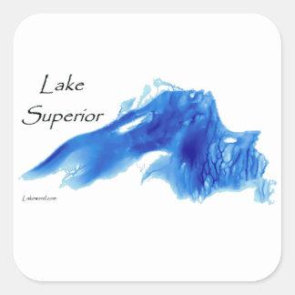 Lake Superior InDepth Square Sticker