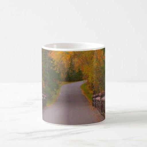 Lake Superior Magnet and Photo Card Basic White Mug