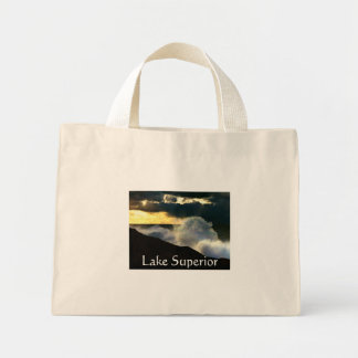 Lake Superior Mini Tote Bag