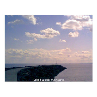 Lake Superior Minnesota Postcard