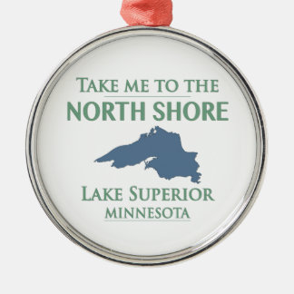 Lake Superior North Shore Christmas Ornament