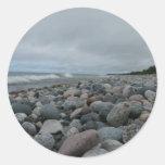 Lake Superior Round Sticker