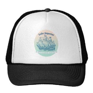Lake Superior Sailing Ship Cap