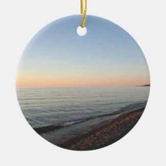 Lake Superior Sunset Ornament