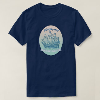Lake Superior Tall Ships for Travel Novelty Shops T-Shirt
