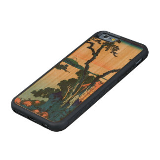 Lake Suwa in Shinano Province Carved Cherry iPhone 6 Bumper Case