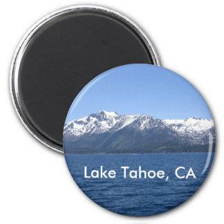 Lake Tahoe 6 Cm Round Magnet