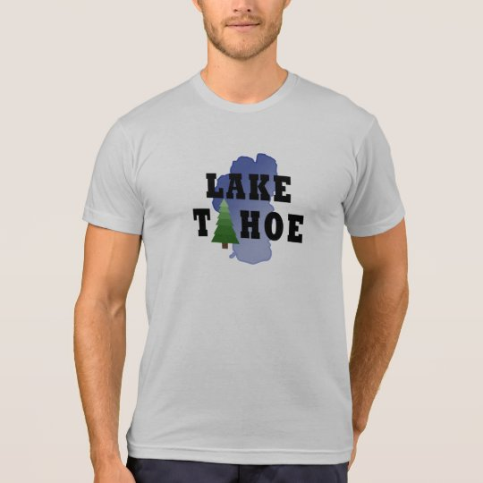 Lake Tahoe American Apparel Poly-Cotton Tshirt