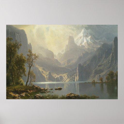 Lake Tahoe by Bierstadt Poster