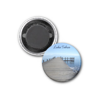 Lake Tahoe, CA 3 Cm Round Magnet