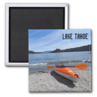 Lake Tahoe, CA Square Magnet