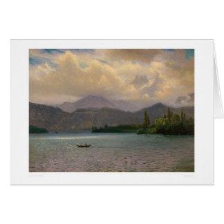 Lake Tahoe, California by Bierstadt (0102a) Card