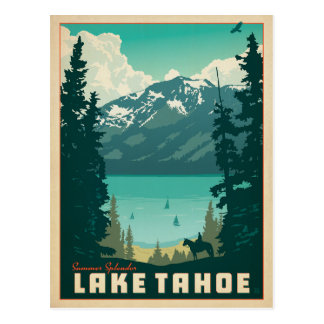 Lake Tahoe | California & Nevada Postcard