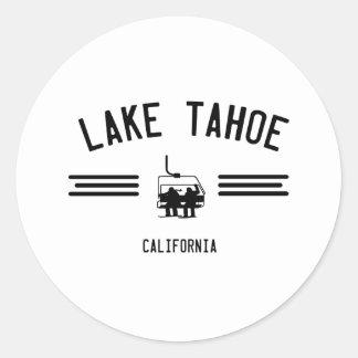 Lake Tahoe California Round Sticker