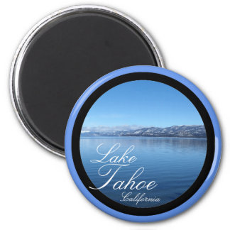 Lake Tahoe California scenic circle magnet