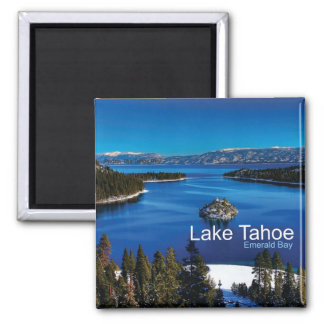 Lake Tahoe California Travel Photo Fridge Magnets