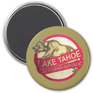 Lake Tahoe California vintage bear magnet