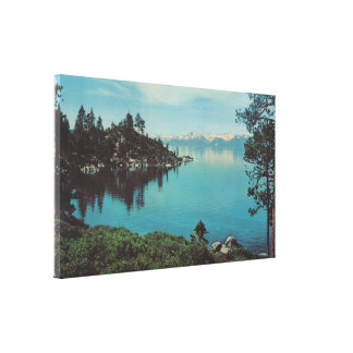 Lake Tahoe Stretched Canvas Prints