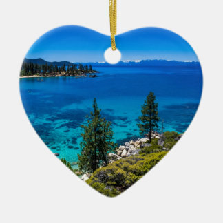 Lake Tahoe Christmas Ornament
