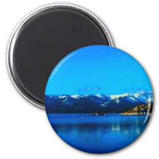 Lake Tahoe Collection Refrigerator Magnet