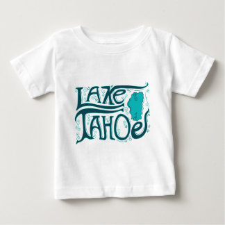 Lake Tahoe Hand Drawn Logo Baby T-Shirt