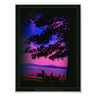 Lake Tahoe in Full Color Photographic Print