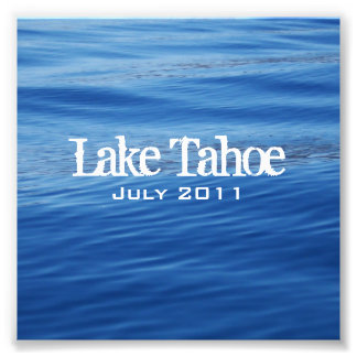 Lake Tahoe Jewel Case Insert Photo