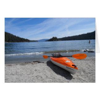 Lake Tahoe Kayak Card