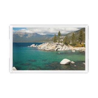 Lake Tahoe Landscape Acrylic Tray